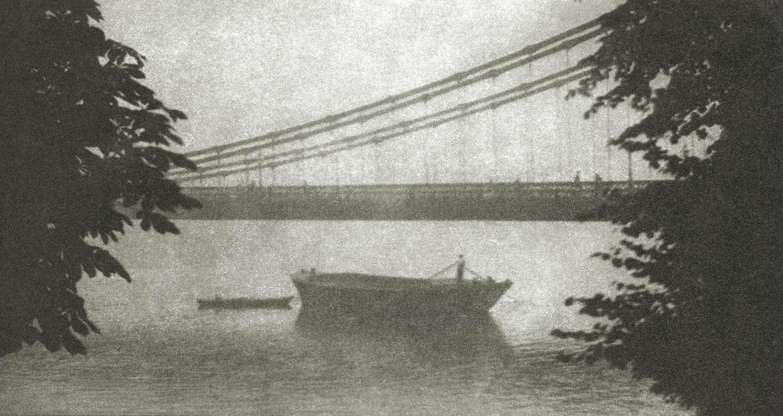 Сумерки, Лондон, 1909. Фотограф Элвин Лэнгдон Коберн