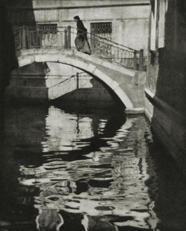 Тени и отражения. Венеция, 1909. Фотограф Элвин Лэнгдон Коберн
