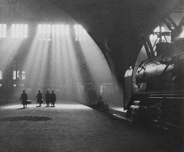 Пенсильванский вокзал, 1920-е. Фотограф Драгомир Йозеф Ружичка