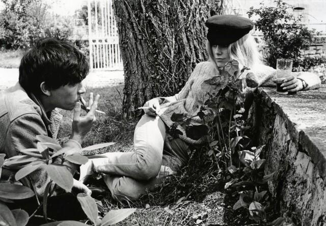 Катрин Денёв и Дэвид Бейли, 1965. Фотограф Эрик Суэйн