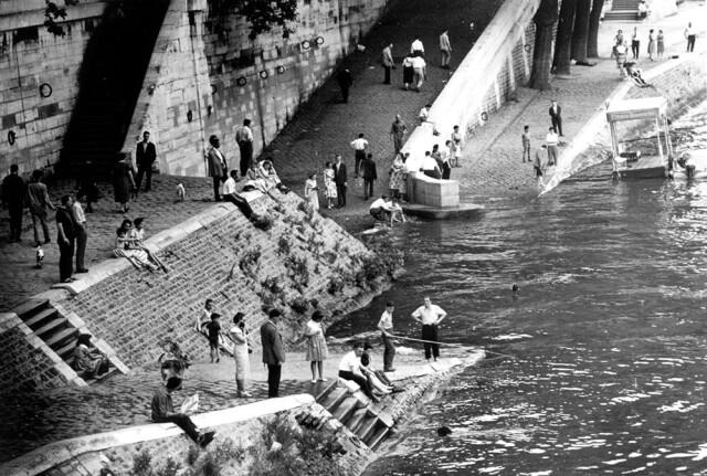 Разлив Сены, 1959. Фотограф Пьер Була