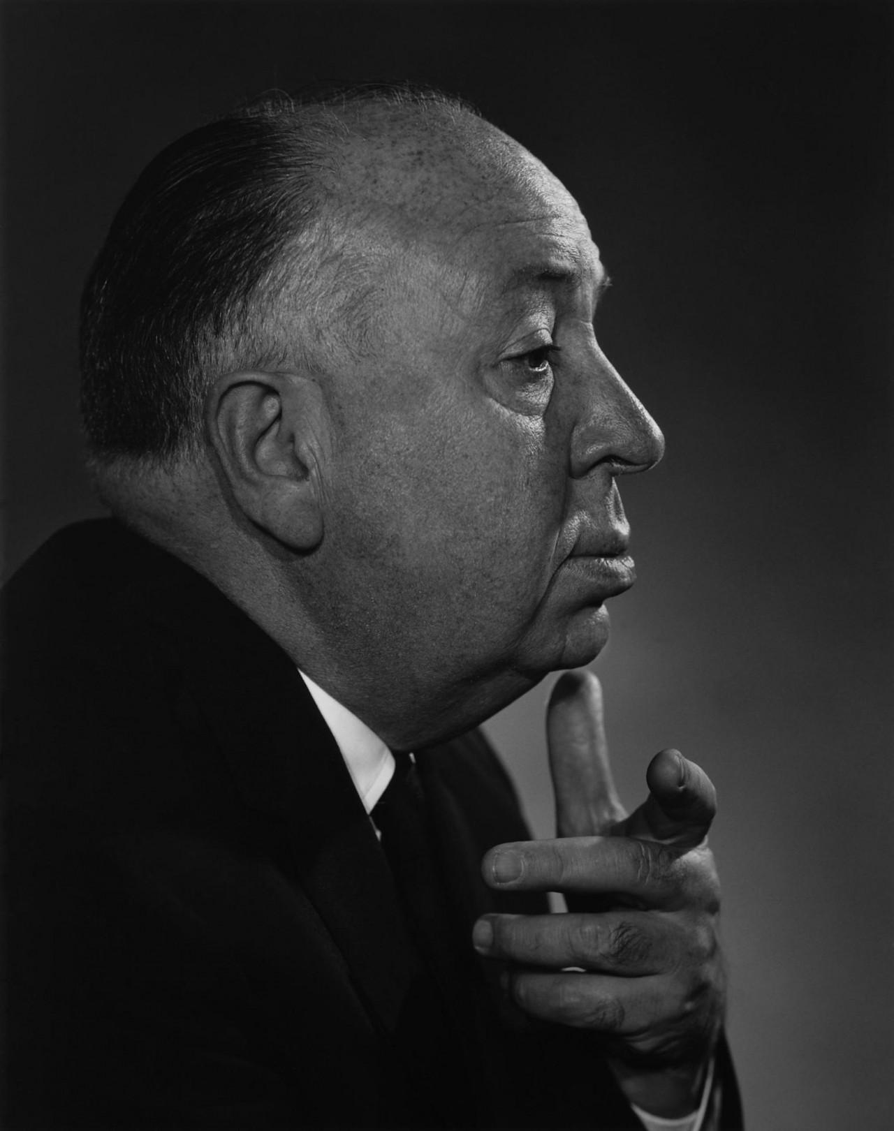 Альфред Хичкок, 1960. Автор Юсуф Карш