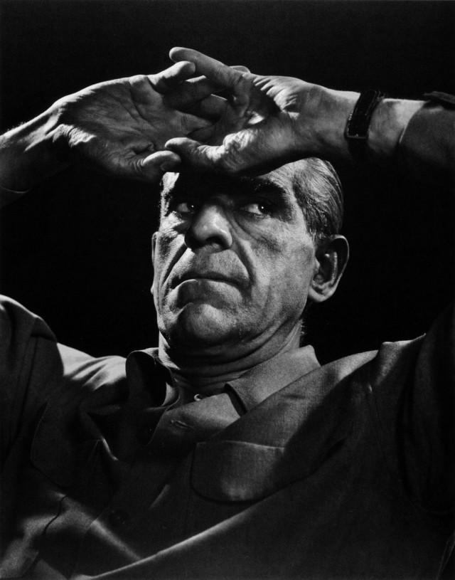 Борис Карлофф, 1946. Автор Юсуф Карш