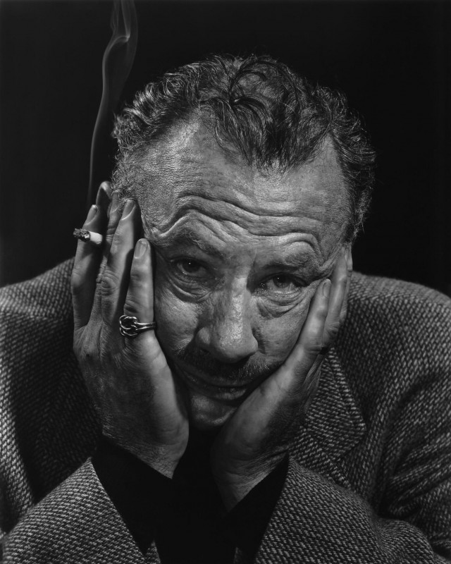 Джон Стейнбек, 1954. Автор Юсуф Карш