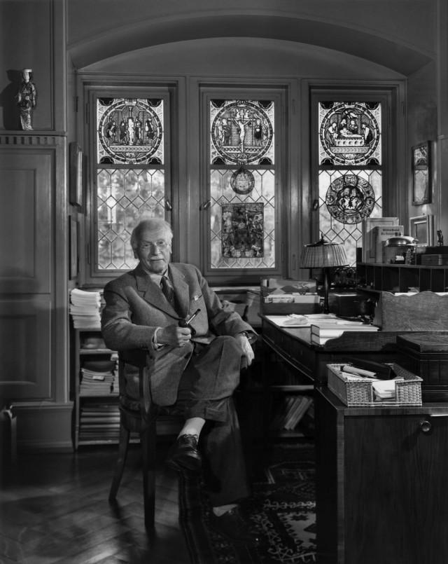 Карл Юнг, 1958. Автор Юсуф Карш