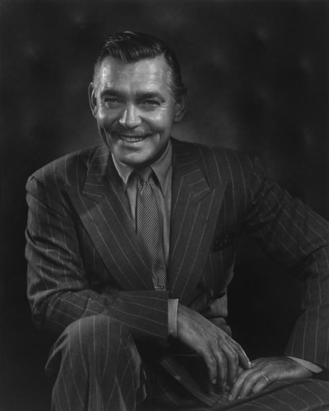 Кларк Гейбл, 1948. Автор Юсуф Карш