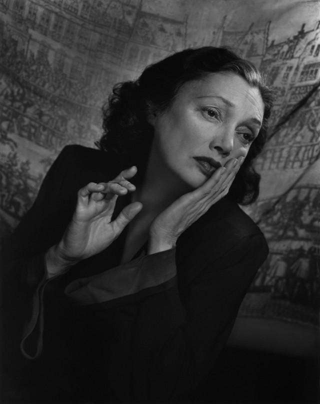 Кэтрин Корнелл, 1947. Автор Юсуф Карш