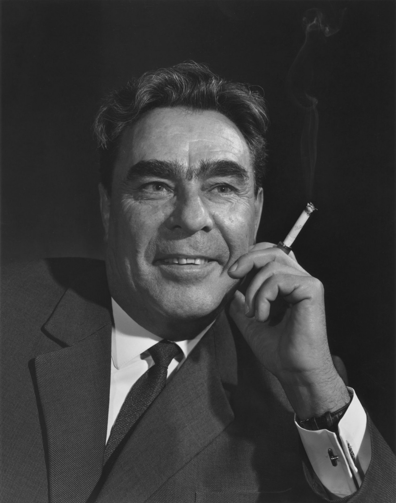 Леонид Ильич Брежнев, Москва, 1963. Автор Юсуф Карш