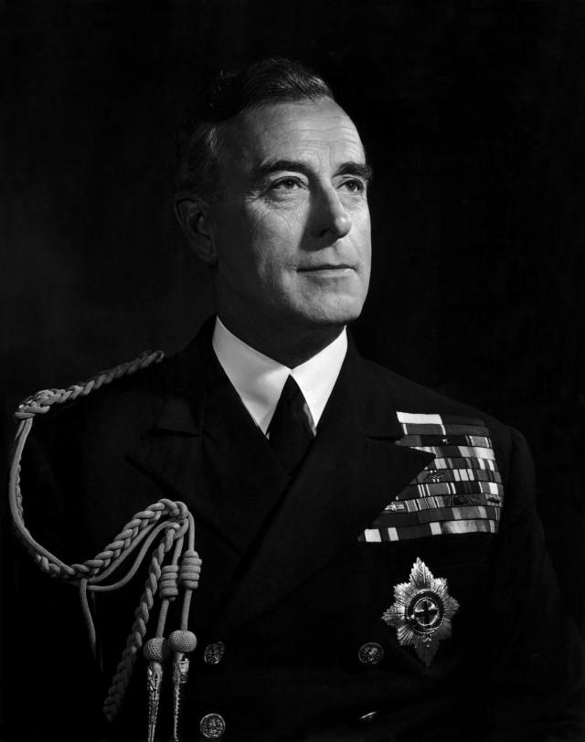 Лорд Луис Маунтбеттен, 1943. Автор Юсуф Карш