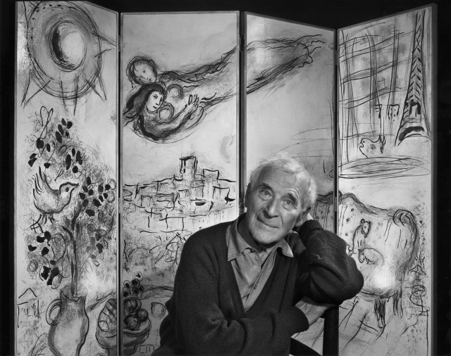 Марк Шагал, 1965. Автор Юсуф Карш