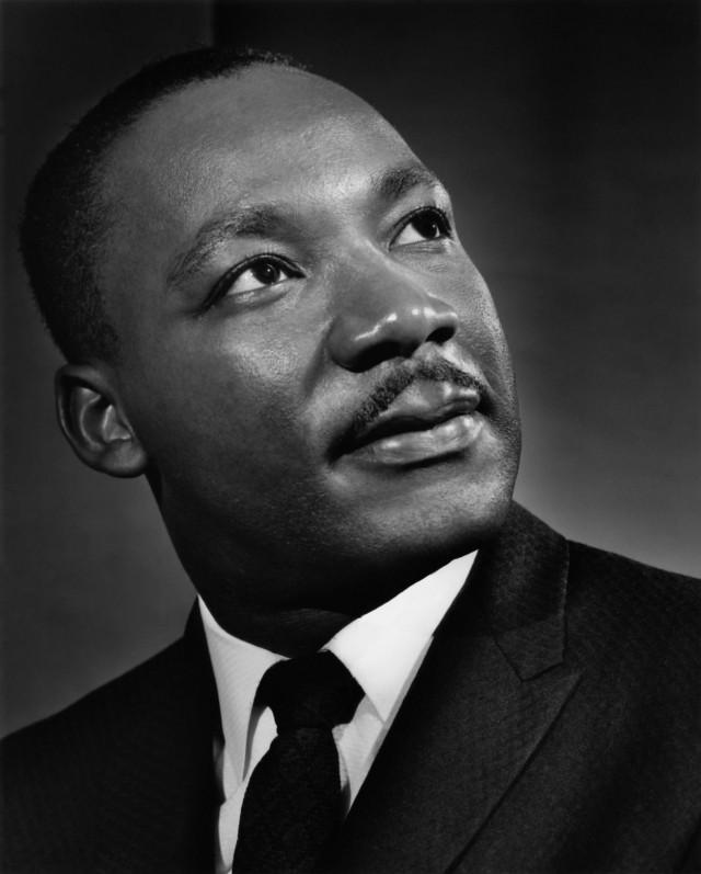 Мартин Лютер Кинг, 1962. Автор Юсуф Карш