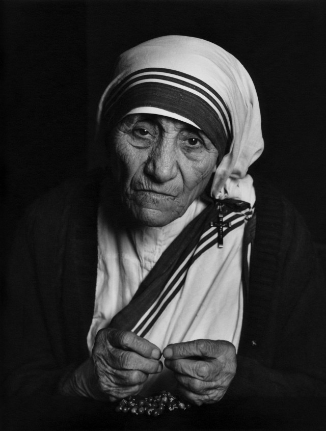 Мать Тереза, 1988. Автор Юсуф Карш