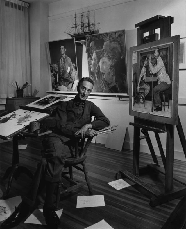 Норман Роквелл, 1956. Автор Юсуф Карш