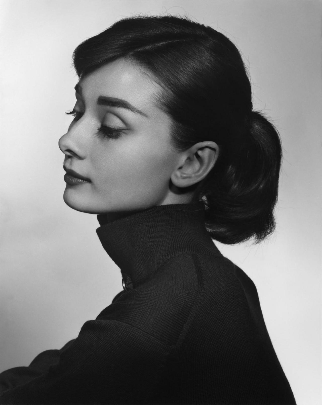 Одри Хепбёрн, 1956. Автор Юсуф Карш