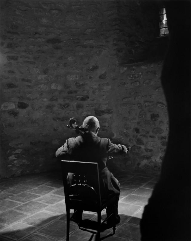 Пабло Казальс, 1954. Автор Юсуф Карш