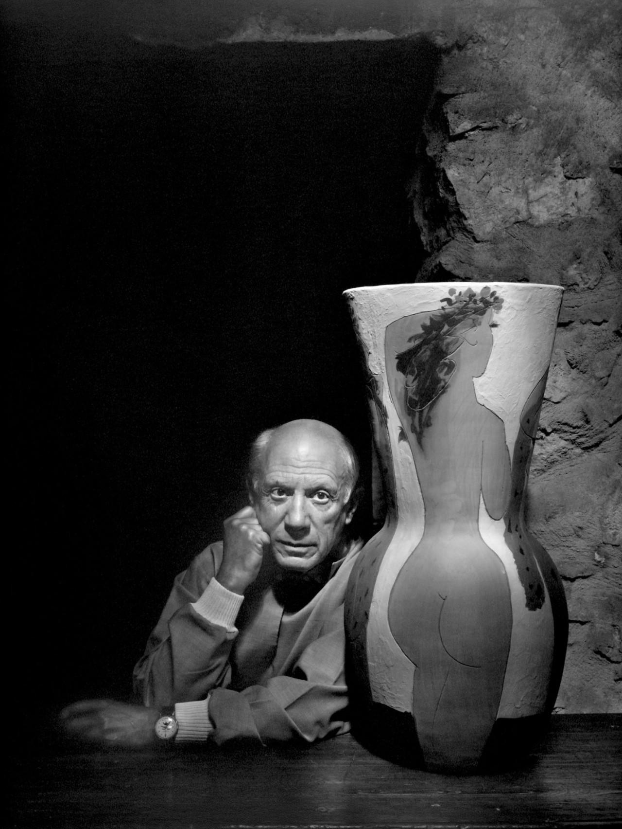 Пабло Пикассо, 1954. Автор Юсуф Карш