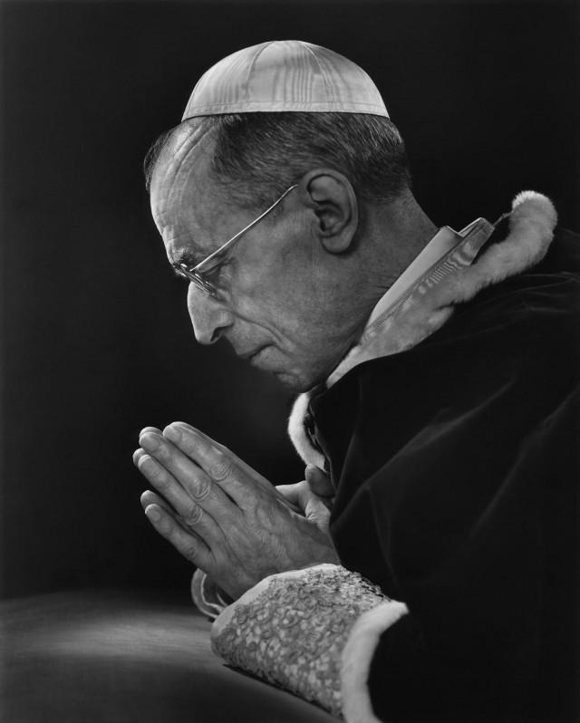 Папа Пий XII, 1949. Автор Юсуф Карш