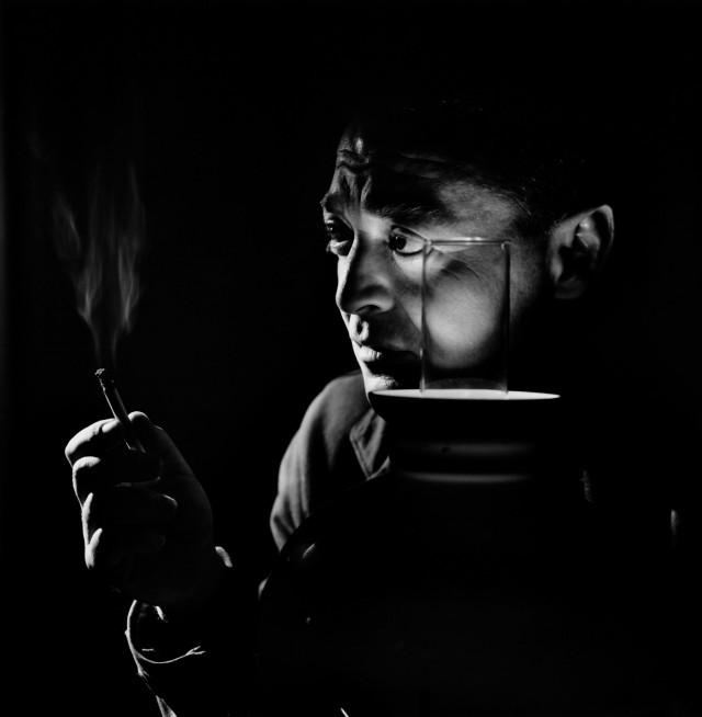 Петер Лорре, 1946. Автор Юсуф Карш