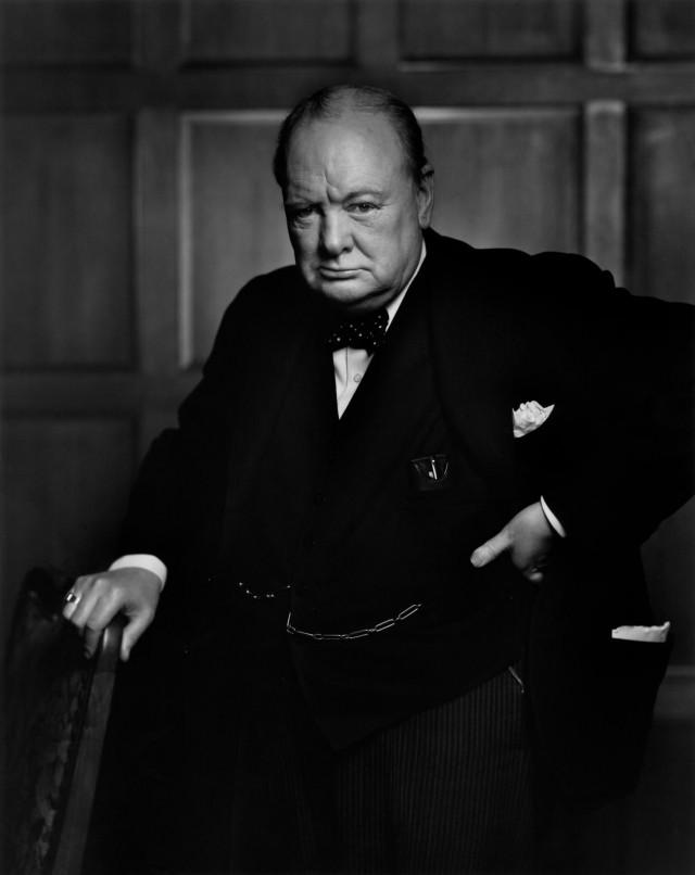 Уинстон Черчилль, 1941. Автор Юсуф Карш