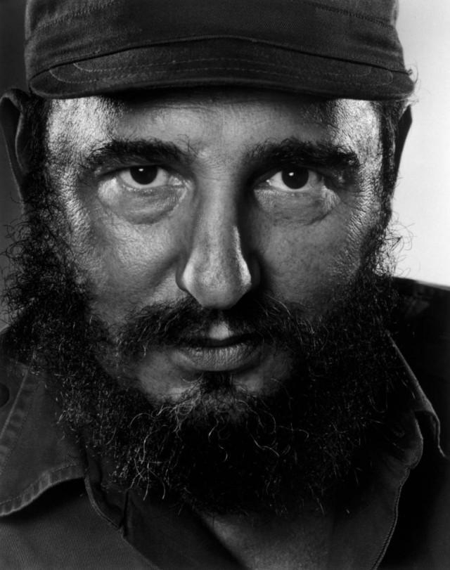 Фидель Кастро, 1971. Автор Юсуф Карш