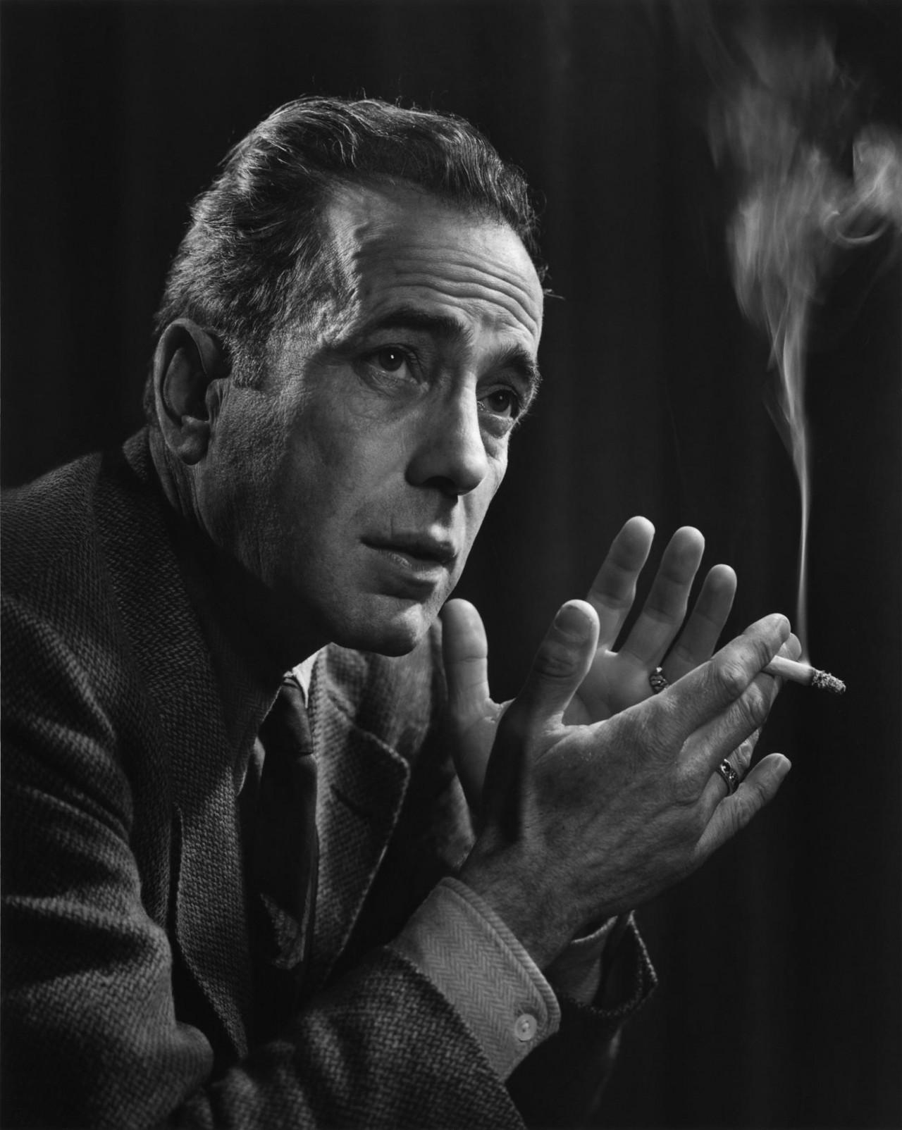 Хамфри Богарт, 1946. Автор Юсуф Карш