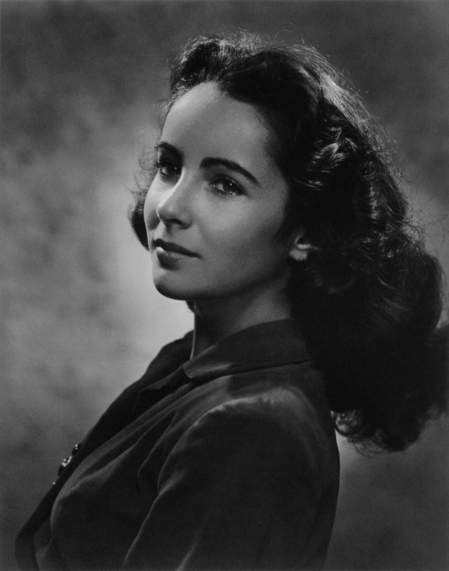 Элизабет Тейлор, 1946. Автор Юсуф Карш
