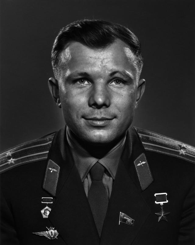 Юрий Гагарин, 1963. Автор Юсуф Карш