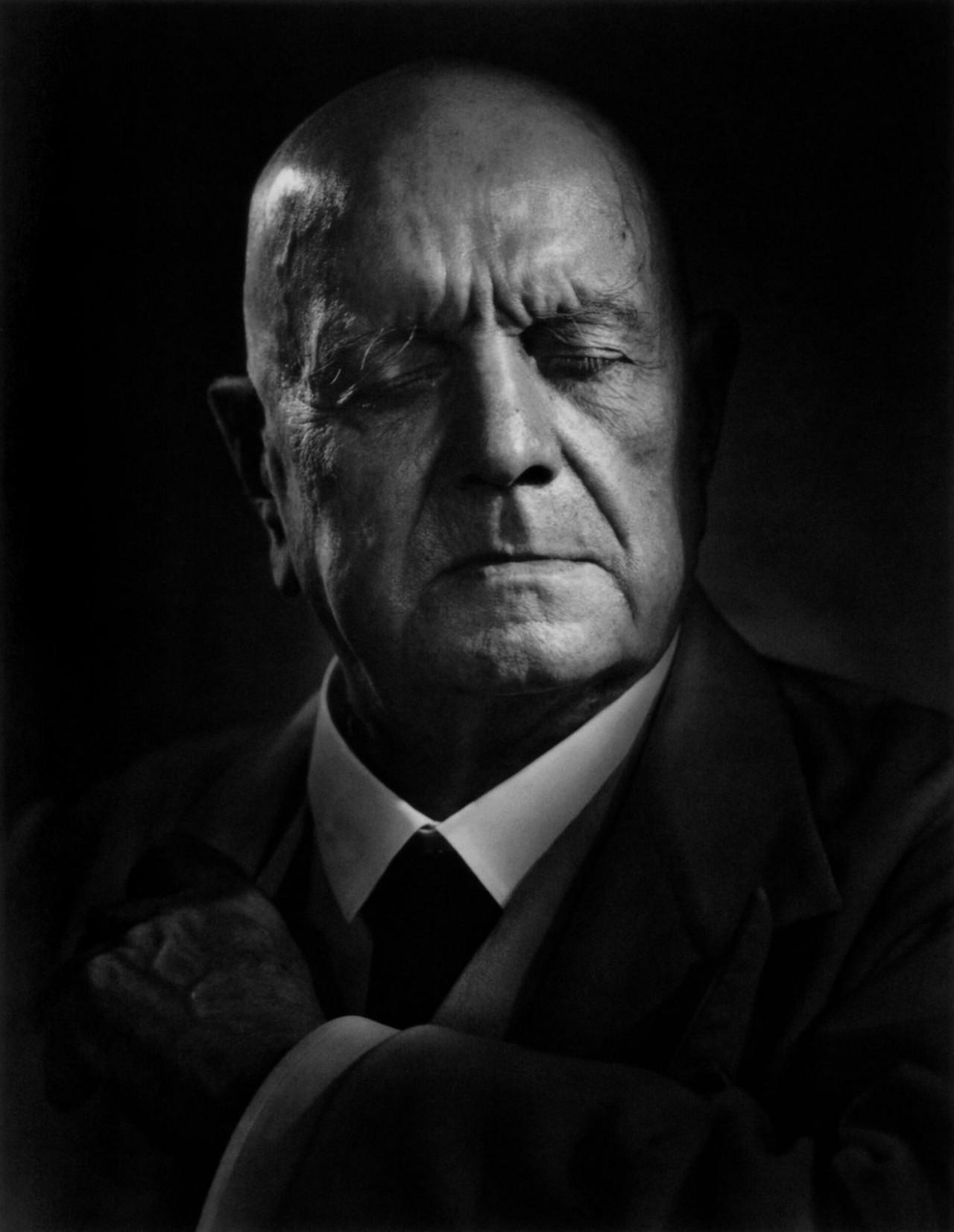 Ян Сибелиус, 1948. Автор Юсуф Карш