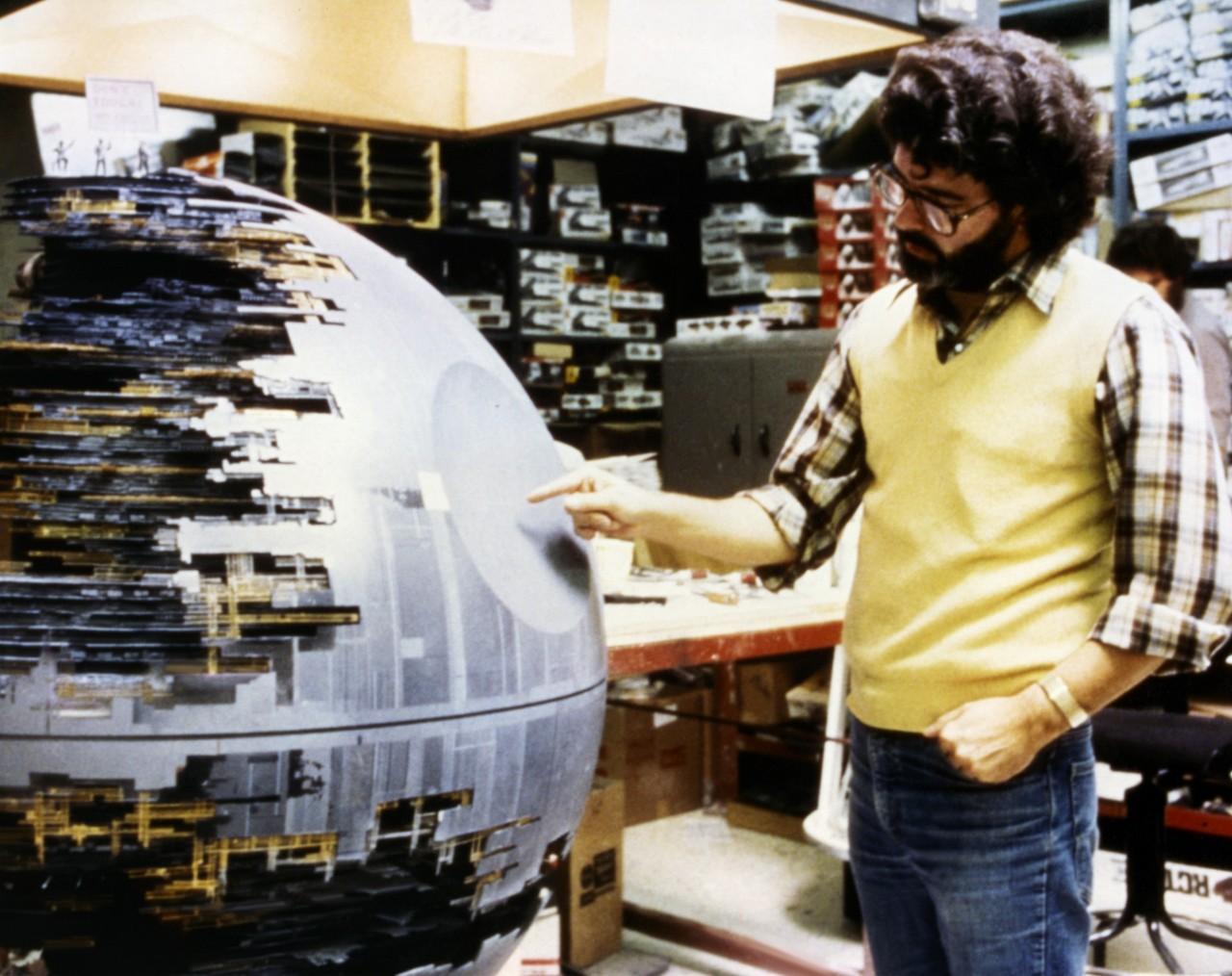 Джордж Лукас и Звезда Смерти. «Звёздные войны: Эпизод 6 – Возвращение Джедая», 1983