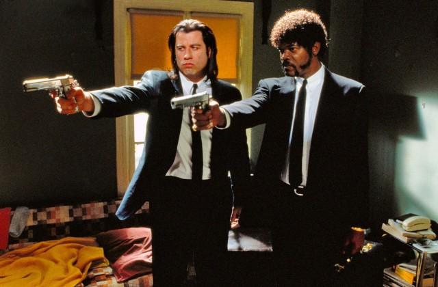 Джон Траволта и Сэмюэл Л. Джексон в «Криминальном чтиве», 1994