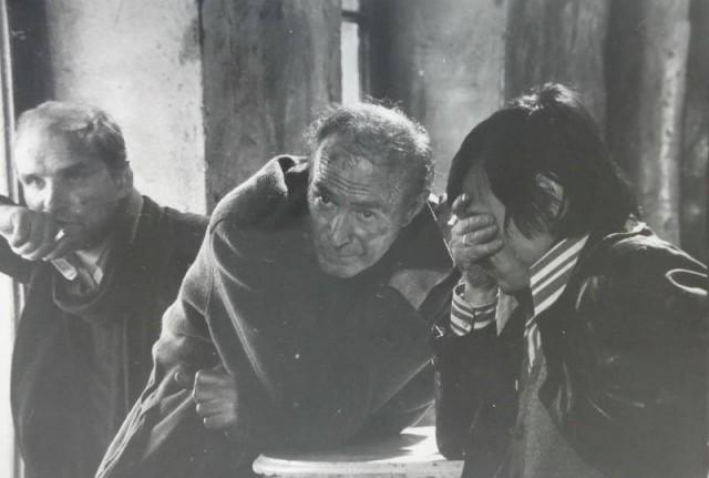 Анатолий Солоницын, Николай Гринько и Андрей Тарковский, «Сталкер», 1978 год. Фотограф Григорий Верховский