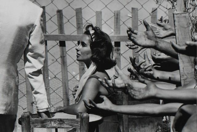 Элизабет Тейлор на съёмках триллера «Внезапно, прошлым летом», 1959. Фотограф Берт Глинн