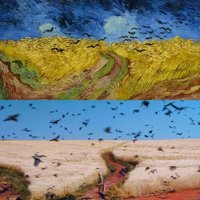 «Пшеничное поле с воронами» Ван Гога и «Сны» Акиры Куросавы