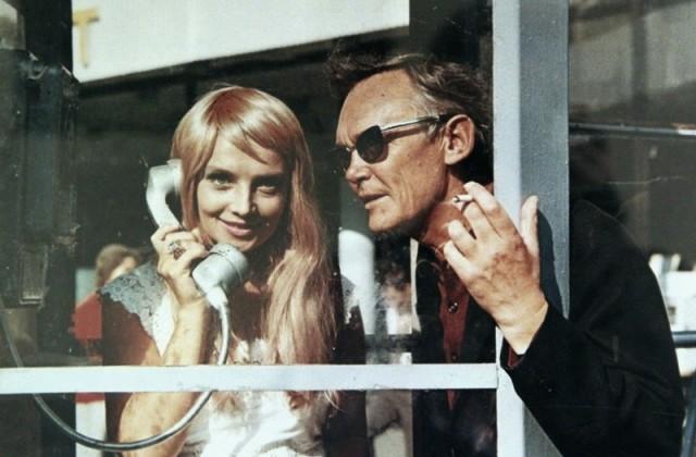 Леонид Гайдай и Наталья Кустинская на съёмках фильма «Иван Васильевич меняет профессию», 1973