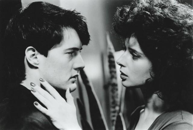 Кайл Маклахлен и Изабелла Росселлини в «Синем бархате» Дэвида Линча, 1986