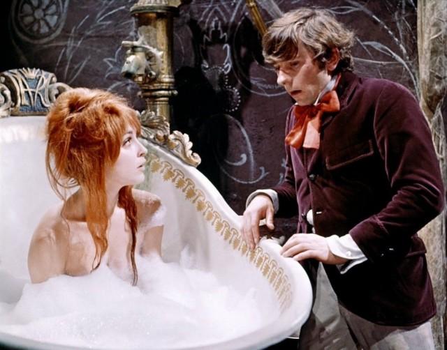 Шэрон Тейт и Роман Полански в фильме «Бал вампиров», 1967