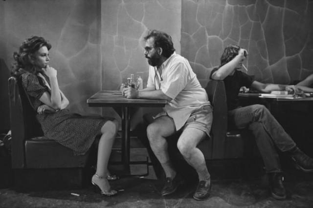 Дайан Лейн и Фрэнсис Форд Коппола на съёмках фильма «Бойцовая рыбка», 1983. Фотограф Мэри Эллен Марк