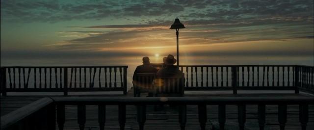 Брэд Питт и Джейсон Флеминг в «Загадочной истории Бенджамина Баттона», 2008