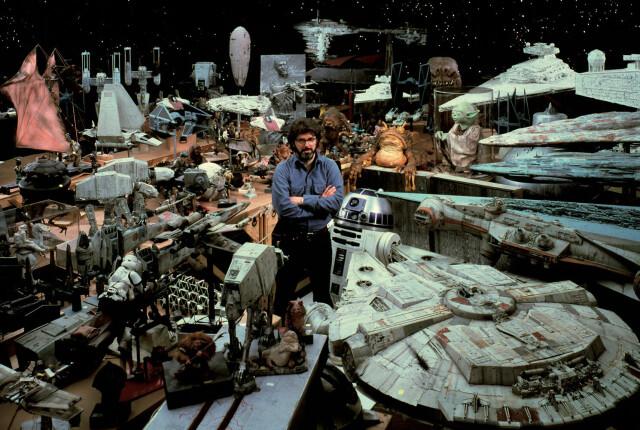 Джордж Лукас и реквизит «Звёздных войн», 1984