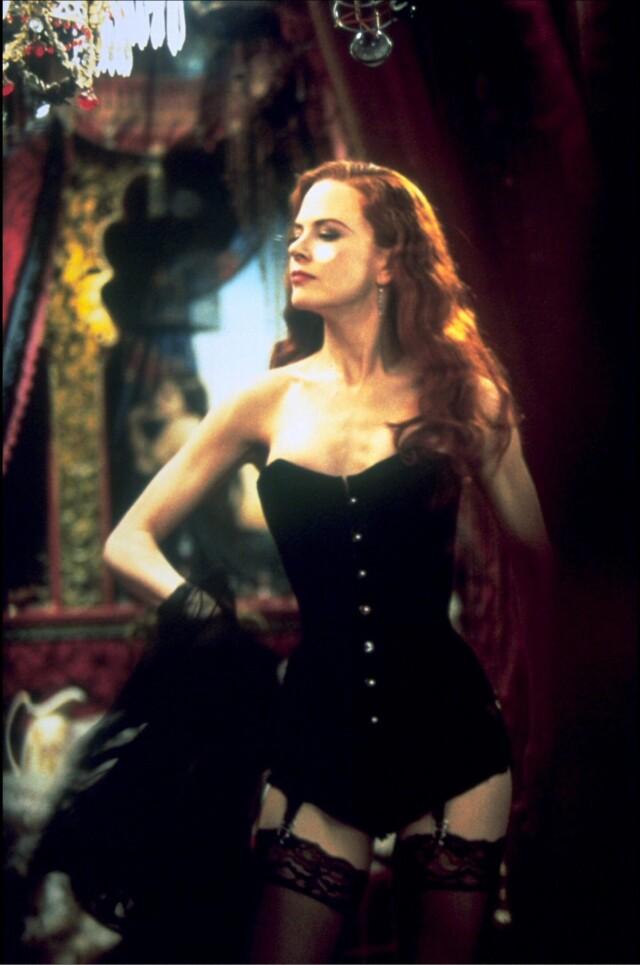 Николь Кидман в мюзикле «Мулен Руж», 2001