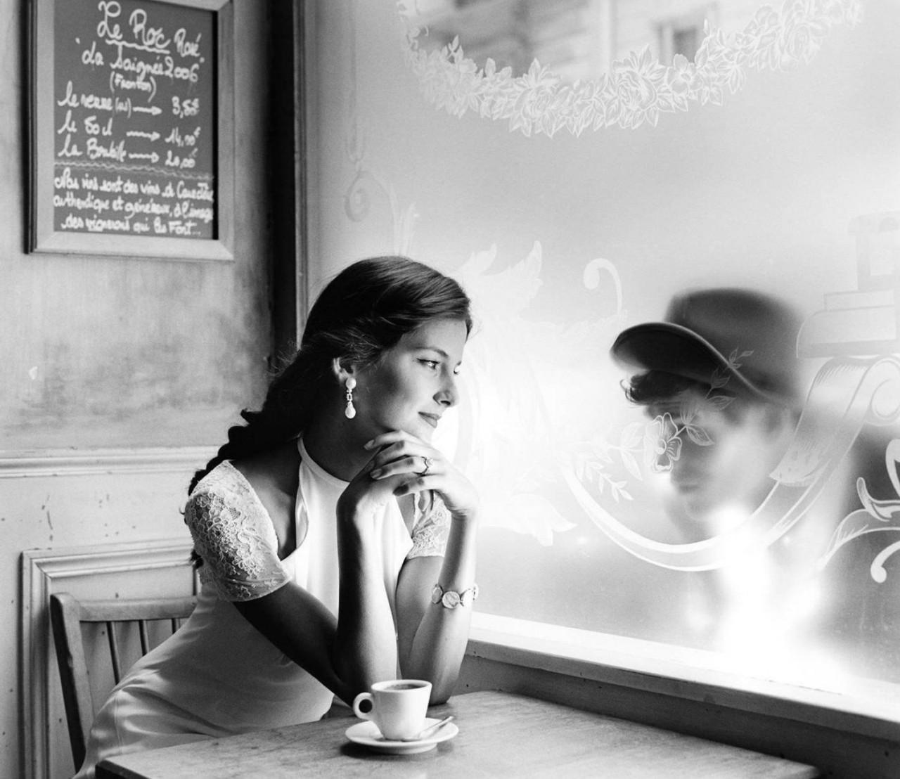 Кафе, Париж, 2007. Фотограф Родни Смит
