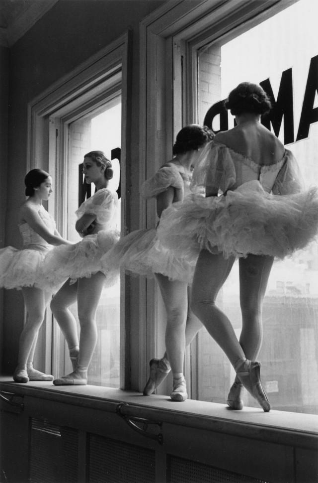 Будущие балерины Американского театра балета, 1937. Фотограф Альфред Эйзенштадт