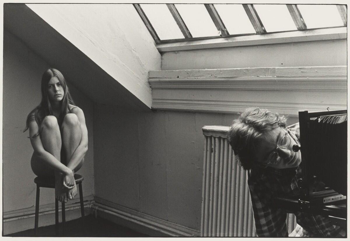 Фотокласс в Институте Пратта, 1972. Фотограф Уильям Гедни