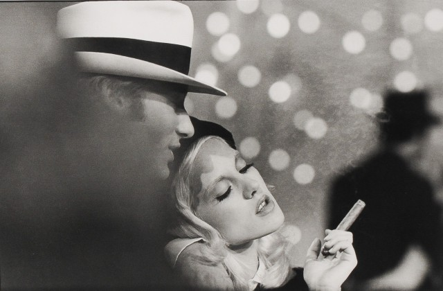 Сильви Вартан и Джонни Холлидей, Париж, 1968. Фотограф Жиль Карон