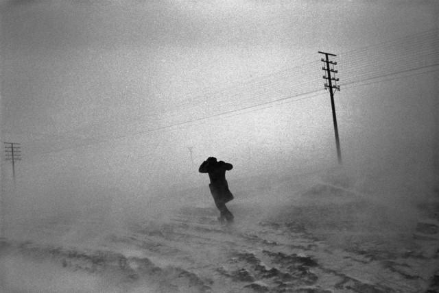 Метель. Автономная албанская республика Корча, 1994. Фотограф Йозеф Куделка