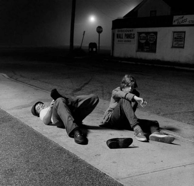 «Ночные совы», 1971. Фотограф Джозеф Сабо