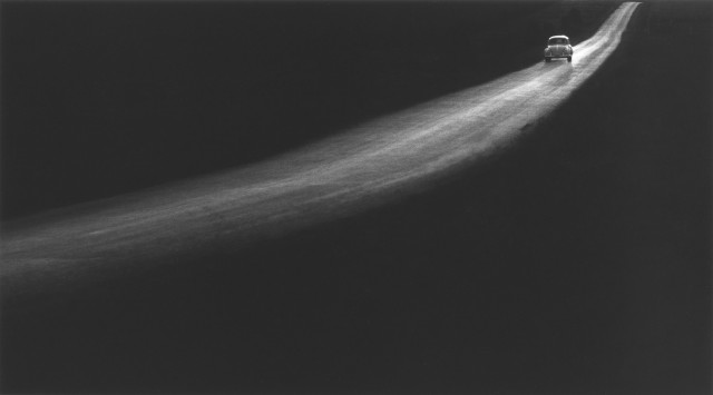 Сельская дорога, 1961. Фотограф Джордж Тайс