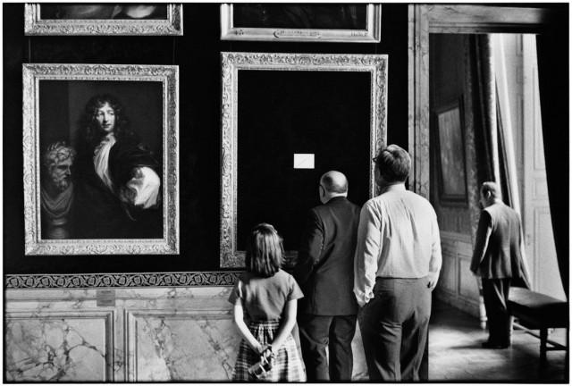Версаль, Франция, 1975. Фотограф Эллиотт Эрвитт