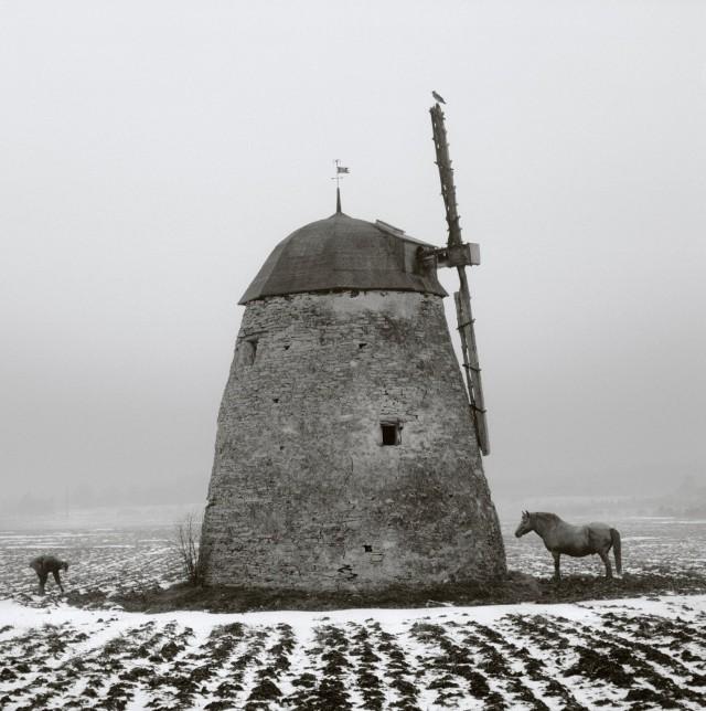 Ветряная мельница. Готланд, Швеция, 1997. Фотограф Пентти Саммаллахти
