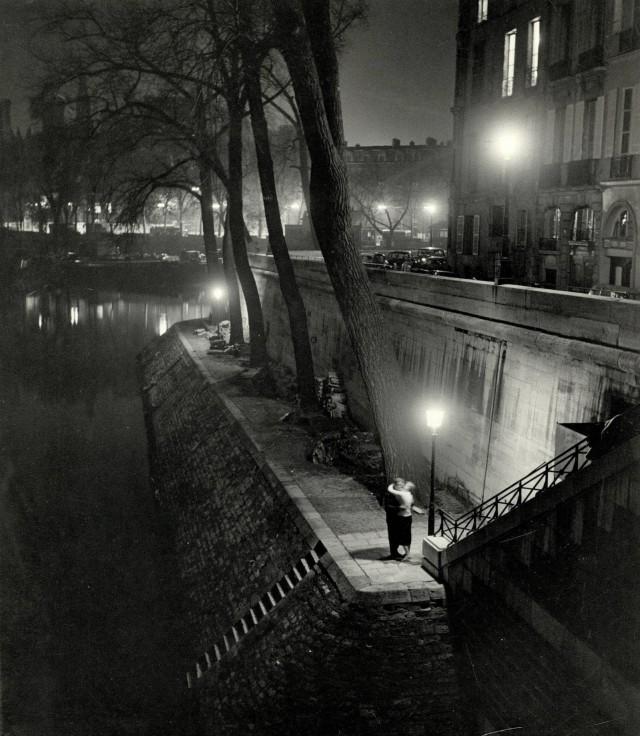 Ночной Париж, 1950-е. Фотограф Кис Шерер